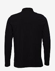 Filippa K - M. Luke Lycra Polo Shirt - lange mouwen - black - 1