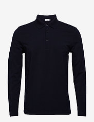 Filippa K - M. Luke Lycra Polo Shirt - polos à manches longues - navy - 0