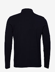 Filippa K - M. Luke Lycra Polo Shirt - polos à manches longues - navy - 1