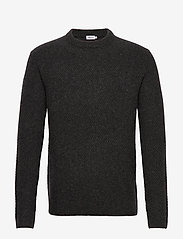 Filippa K - M. Tobias Sweater - basic strik - dark grey - 0