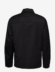 Filippa K - M. Louis Gabardine Jacket - overskjorter - black - 1
