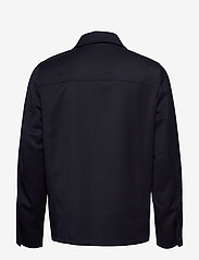 Filippa K - M. Louis Gabardine Jacket - overshirts - navy - 1