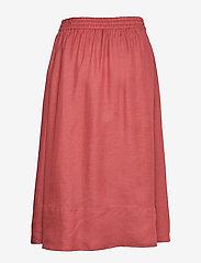 Filippa K - Juliet Skirt - midinederdele - pink cedar - 1
