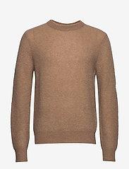 Filippa K - M. Julian Sweater - basic strik - dark khaki - 0