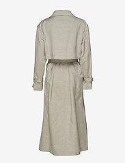 Filippa K - Geneva Coat - trenchcoats - light sage - 2