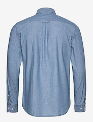 Filippa K - M. Lewis Chambray Shirt - chemises basiques - light blue - 1