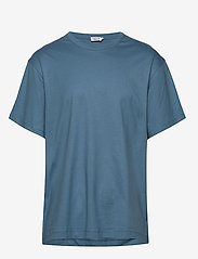 Filippa K - M. Lukas Tee - t-shirts basiques - blue heave - 0