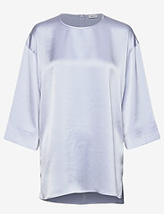 Filippa K - Lydia Top - basic t-shirts - ice blue - 0