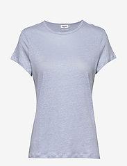 Filippa K - Hazel Tee - basic t-shirts - ice blue - 0