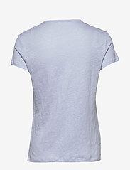 Filippa K - Hazel Tee - basic t-shirts - ice blue - 1