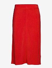 Filippa K - Margaret Skirt - midinederdele - red orange - 0