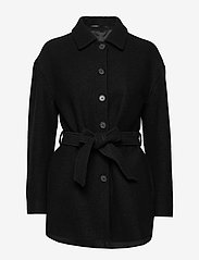 Filippa K - Lima Coat - ullkåper - black - 0