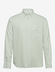 Filippa K - M. Zachary Tencel Shirt - basic overhemden - faded aqua - 0