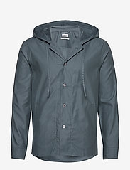 Filippa K - M. Kit Hooded Jacket - kurtki-wiosenne - charcoal b - 0