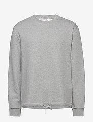Filippa K - M. Felix Sweater - basic sweatshirts - grey melan - 2