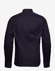 Filippa K - M. Paul Stretch Shirt - oxford overhemden - navy - 1