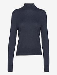 Filippa K - Lynn Silk Mix Sweater - turtlenecks - pacific bl - 0