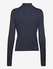 Filippa K - Lynn Silk Mix Sweater - turtlenecks - pacific bl - 1