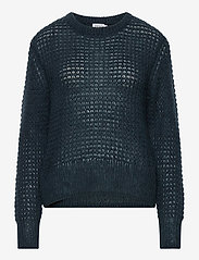 Filippa K - Helen Mohair Sweater - tröjor - pacific bl - 0
