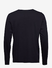 Filippa K - M. Roll Neck Longsleeve - basis-t-skjorter - navy - 1