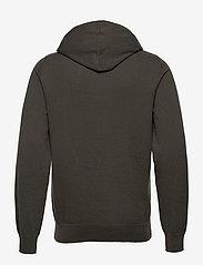 Filippa K - M. Arthur Knitted Hoodie - hoodies - beluga - 1