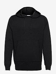 M. Arthur Knitted Hoodie - BLACK