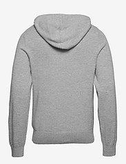 Filippa K - M. Arthur Knitted Hoodie - hoodies - light grey - 1
