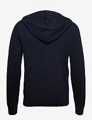 Filippa K - M. Arthur Knitted Hoodie - hoodies - navy - 2