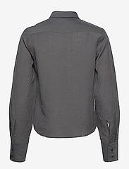 Filippa K - Helena Shirt - long-sleeved shirts - metal - 1