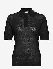 Angeline Knit Top - BLACK