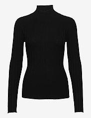 Filippa K - Linnea Knit Top - turtlenecks - black - 0
