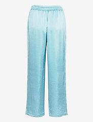 Filippa K - Hayley Satin Trouser - bukser med brede ben - turquoise - 1