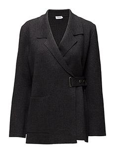 Knitted Jacket - COAL MEL.
