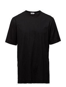 M. Luca Mercerised Cotton Tee - BLACK