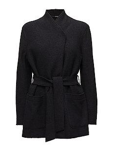 Leia Belt Jacket - BLACK