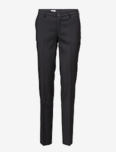Luisa Cool Wool Trouser - BLACK