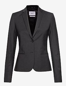 Jackie Cool Wool Jacket - blazere - black