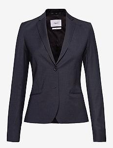 Jackie Cool Wool Jacket - blazere - dk. navy