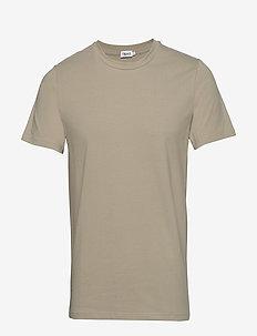 M. Lycra Tee - basic t-shirts - light sage