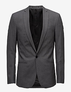 M. Christian Cool Wool Jacket - GREY MEL.