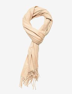 Cashmere Blend Scarf - sjaals - beige