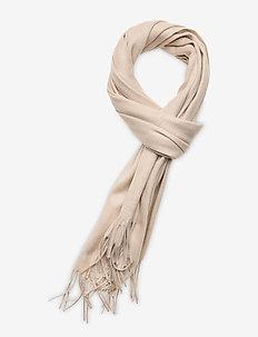 Cashmere Blend Scarf - scarves - sand beige