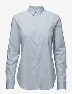 Classic Stretch Shirt - langærmede skjorter - lt. blue