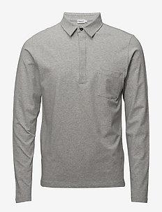 M. Soft Lycra Poloshirt - LIGHT GREY