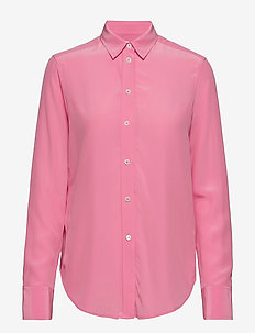 Classic Silk Shirt - WATERLILY