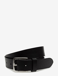 M. Leather Belt - BLACK