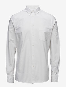 M. Paul Oxford Shirt - basic shirts - white