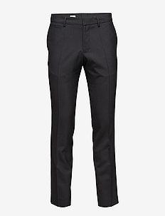 M. Christian Cool Wool Slacks - BLACK