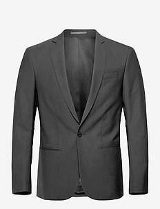 M. Christian Cool Wool Jacket - single breasted blazers - black