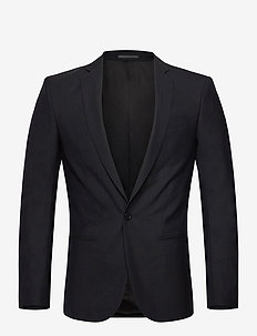 M. Christian Cool Wool Jacket - single breasted blazers - dk. navy